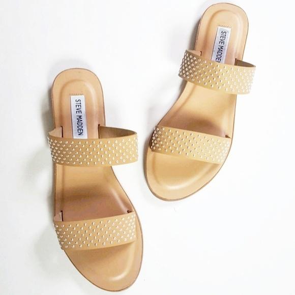 e10762182cf Steve madden shoes steve madden jase studded sandals size jpg 580x580 Steve  sandala